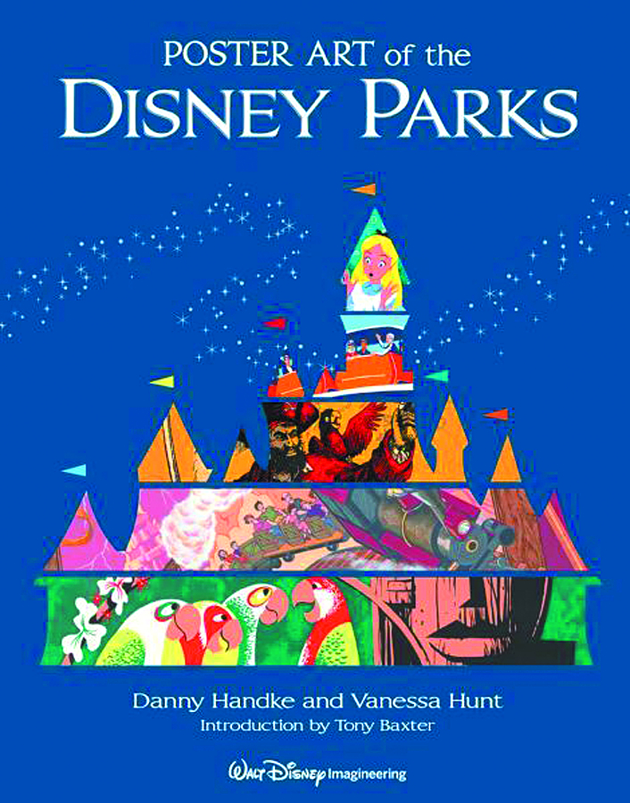 POSTER ART OF THE DISNEY PARKS HC