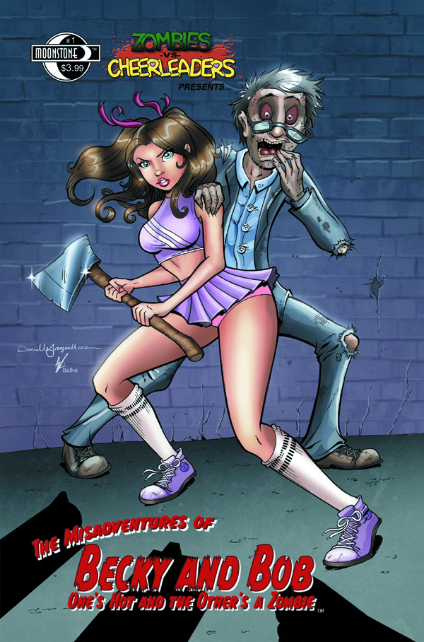 ZOMBIES VS CHEERLEADERS MISADV OF BECKY & BOB #1