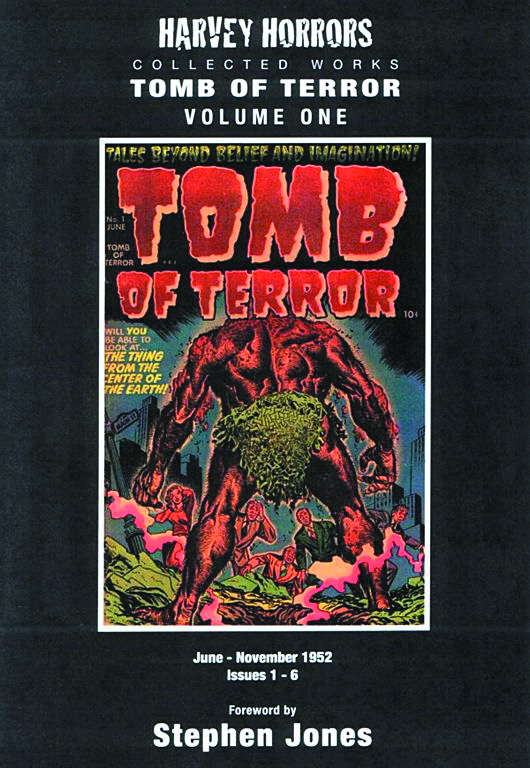 HARVEY HORRORS COLL WORKS TOMB OF TERROR HC VOL 01