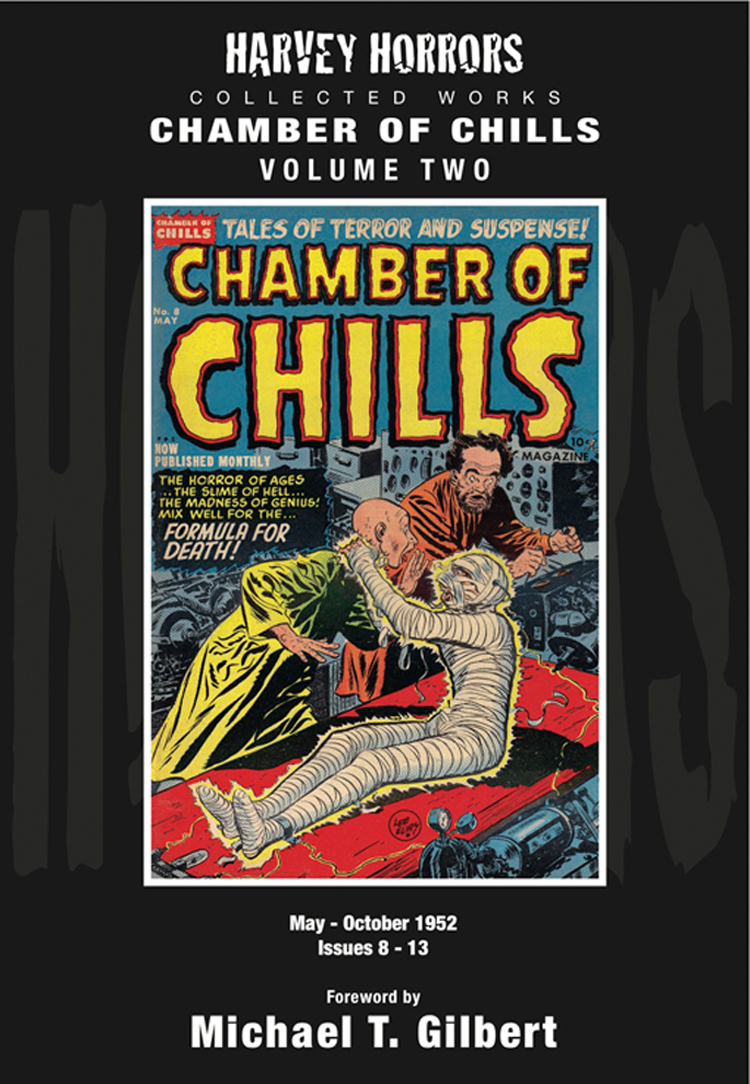 HARVEY HORRORS COLL WORKS CHAMBER OF CHILLS HC VOL 02