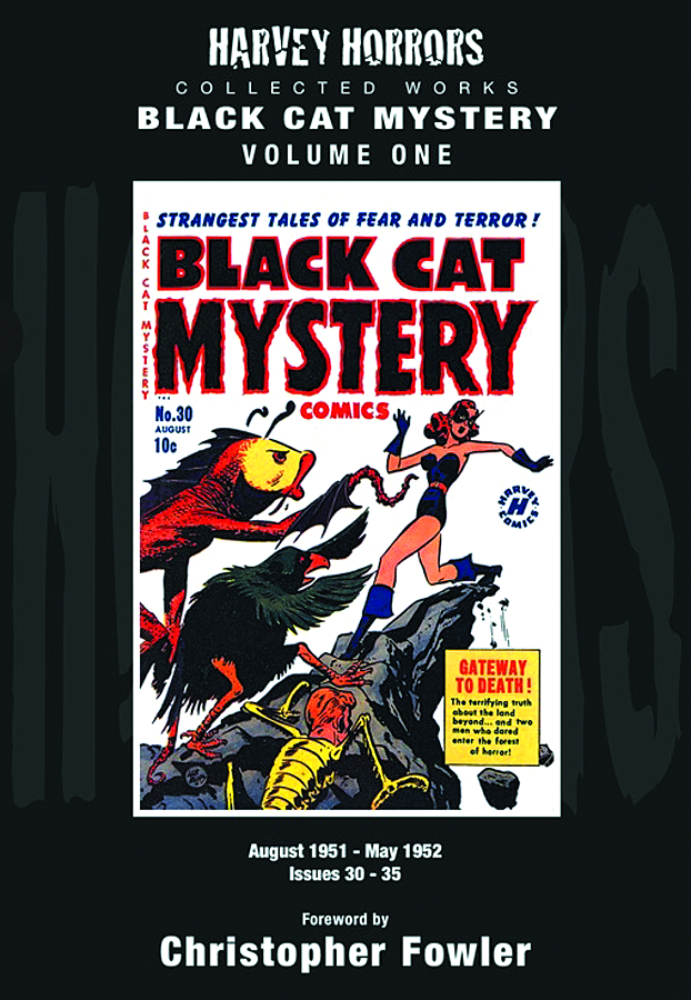 HARVEY HORRORS COLL WORKS BLACK CAT MYSTERY HC VOL 01