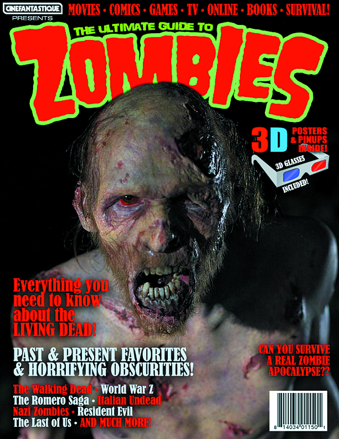 CINEFANTASTIQUE PRES ULT GUIDE TO ZOMBIES