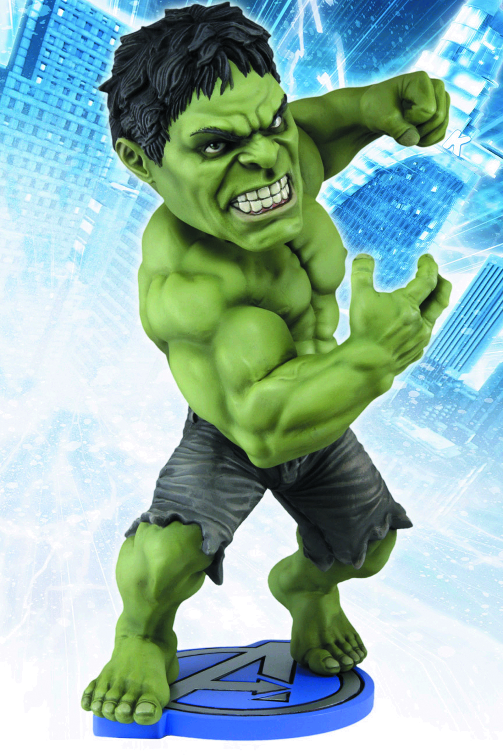 AVENGERS MOVIE HULK HEAD KNOCKER