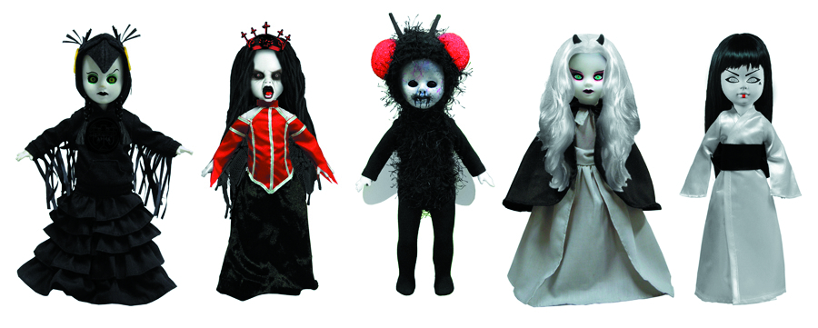 LIVING DEAD DOLLS 2-IN COLL FIG SER 2 BMB DIS