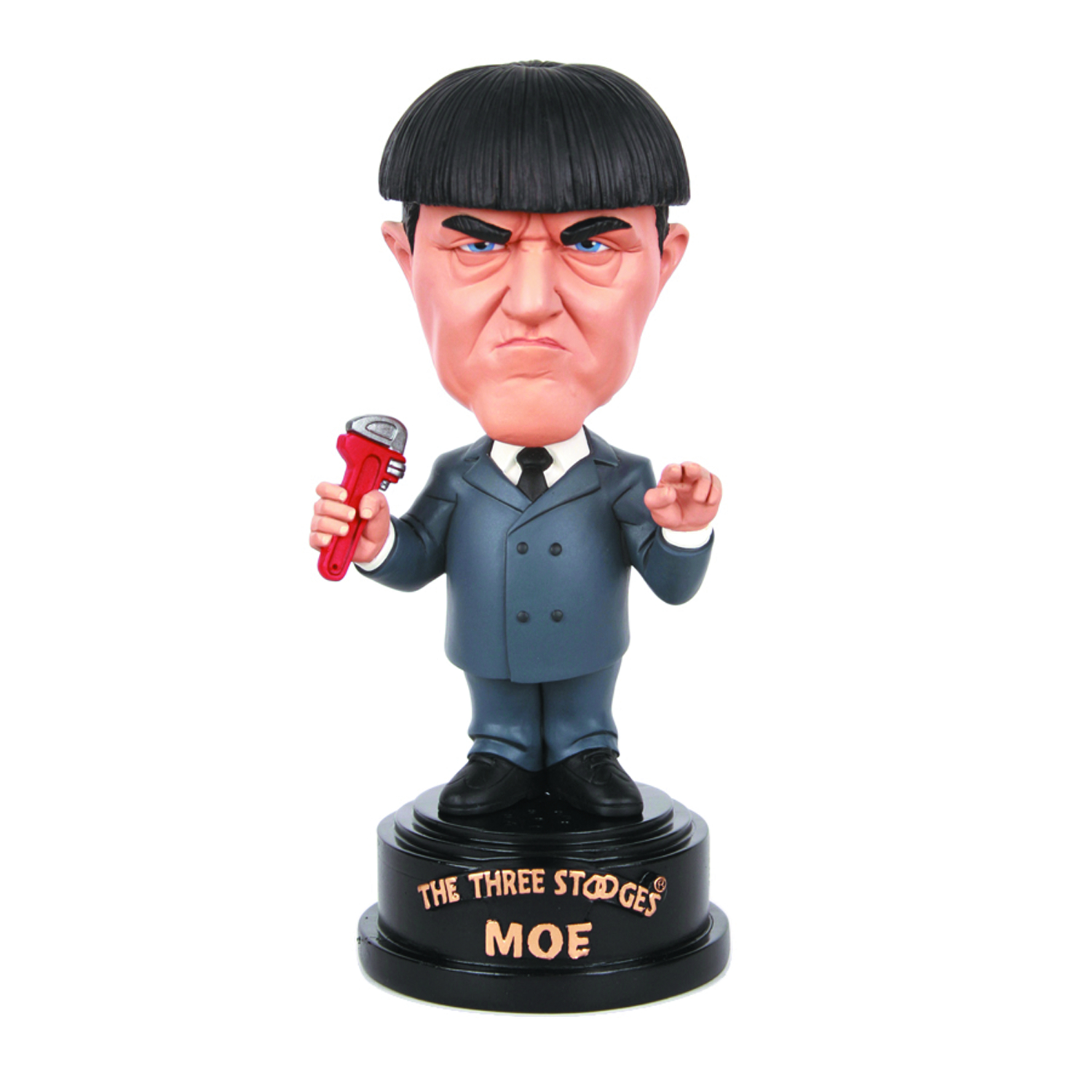 THREE STOOGES MOE TALKING BOBBLEHEAD
