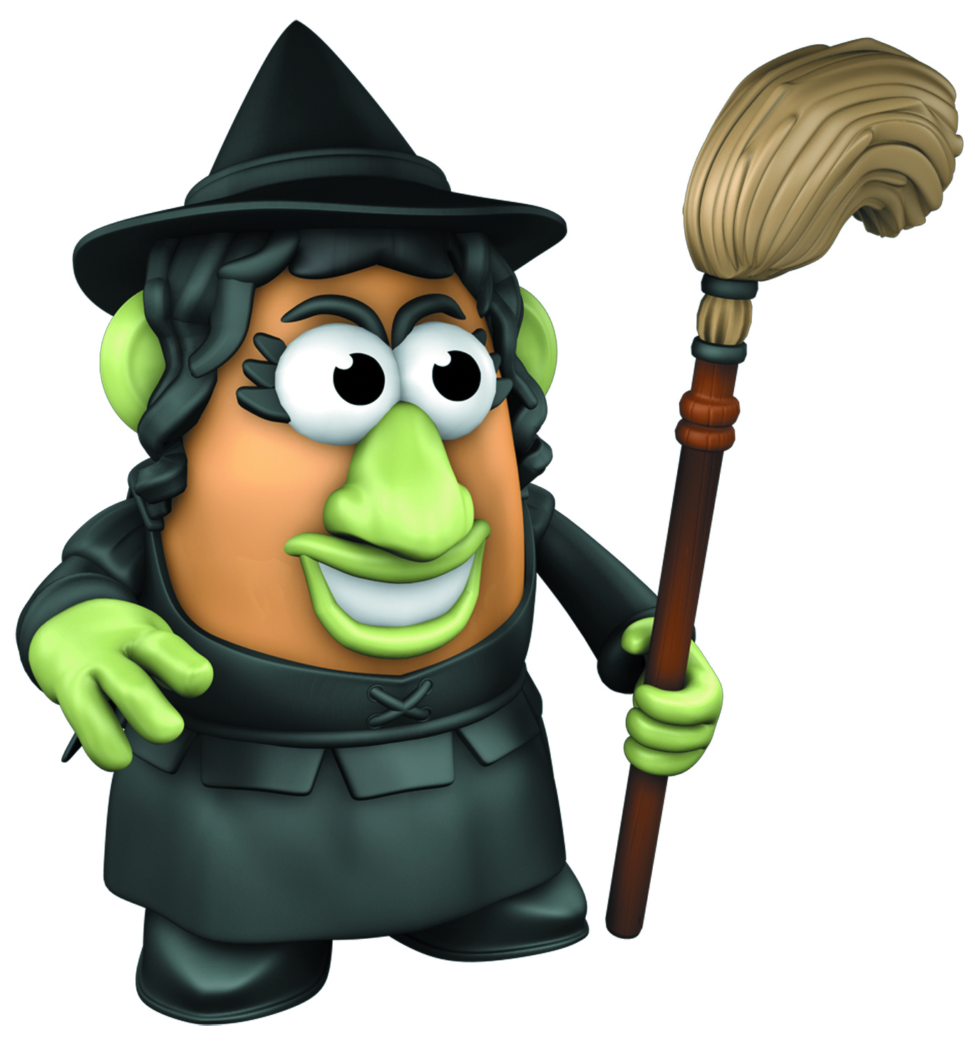 MRS POTATO HEAD WIZARD OF OZ WICKED WITCH