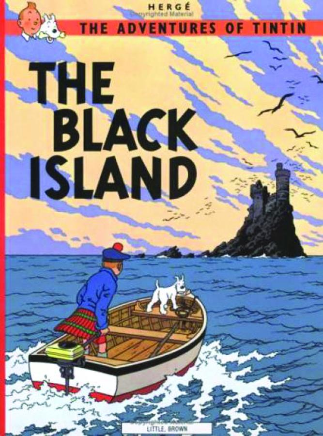 TINTIN HC BLACK ISLAND