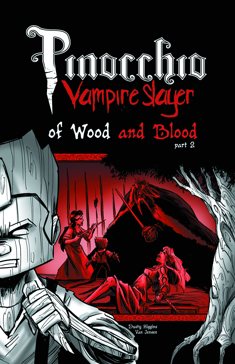 PINOCCHIO VAMPIRE SLAYER GN VOL 04 WOOD & BLOOD PT 2