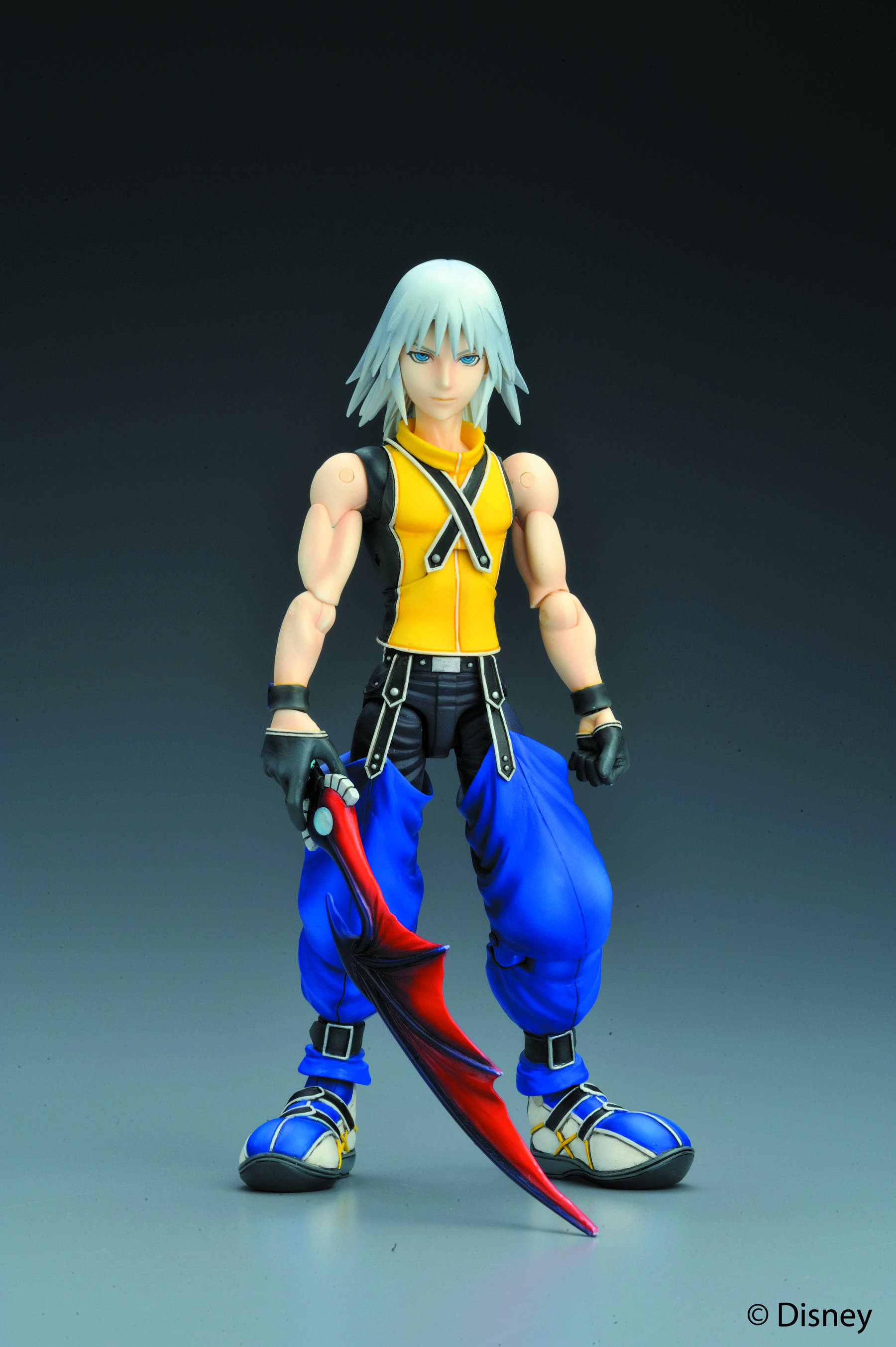 KINGDOM HEARTS PLAY ARTS AF 4PC ASST
