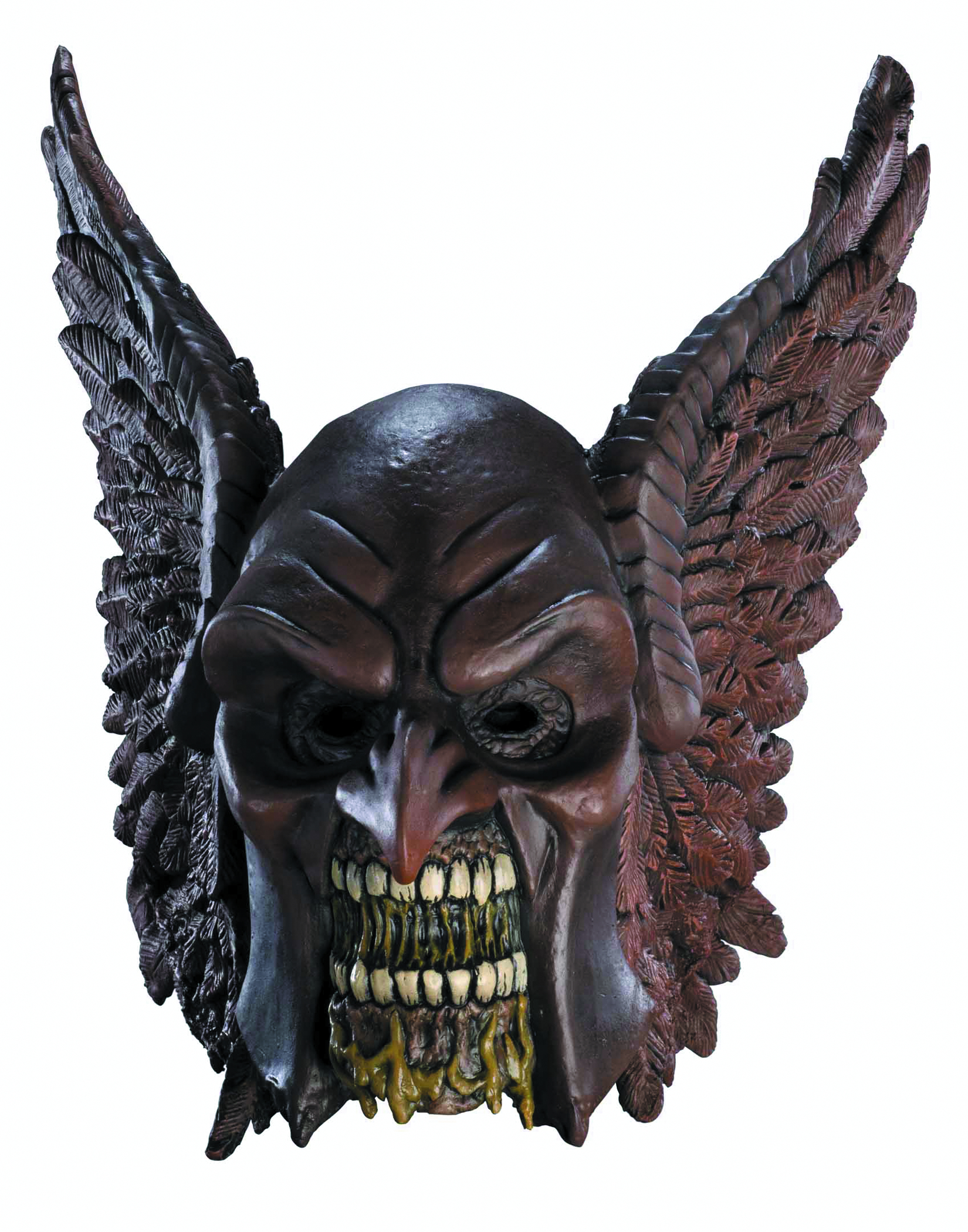 BLACKEST NIGHT HAWKMAN ZOMBIE ADULT MASK