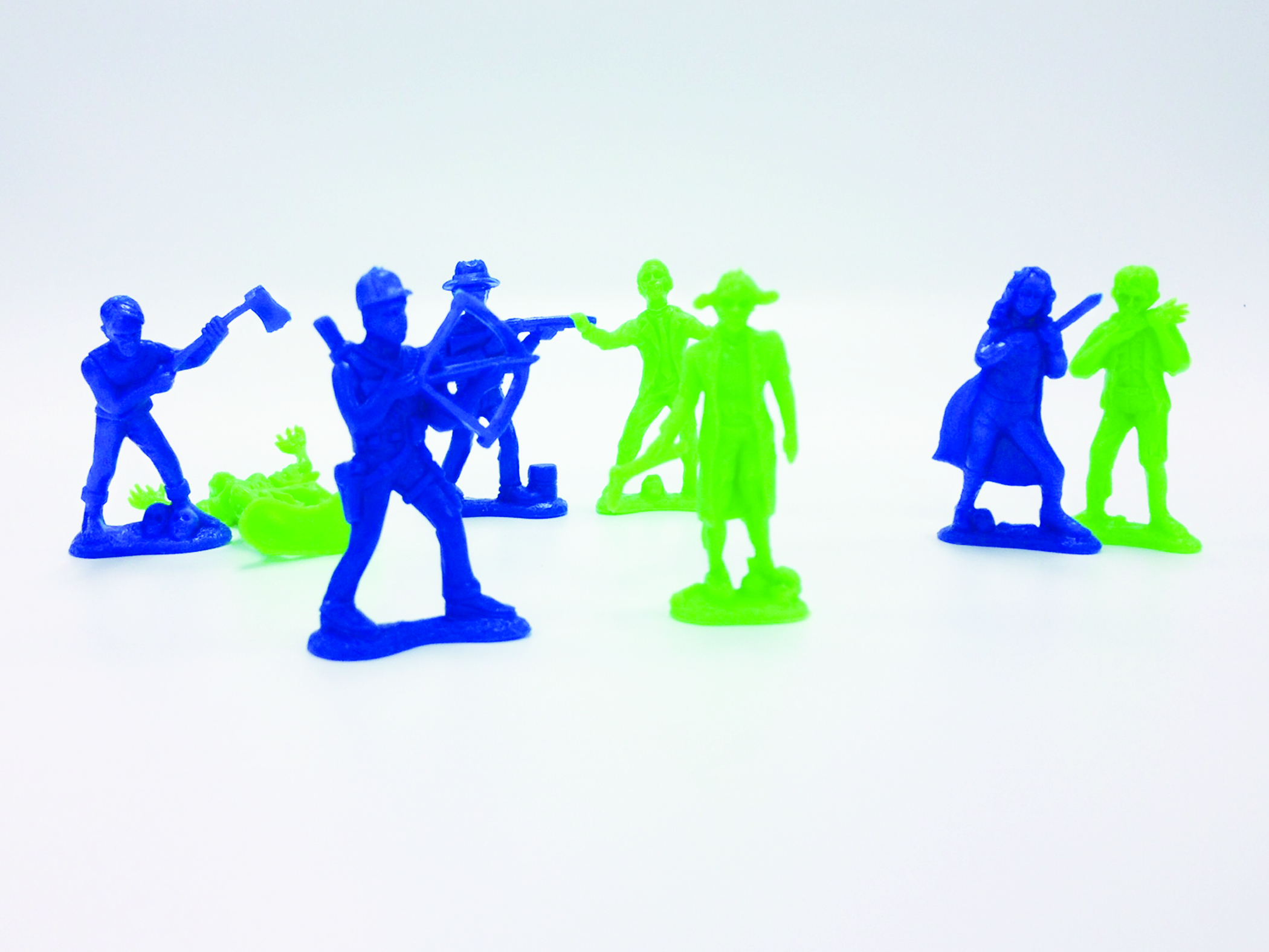ZOMBIES VS ZOMBIE HUNTERS PX FIG 35-CT BAG