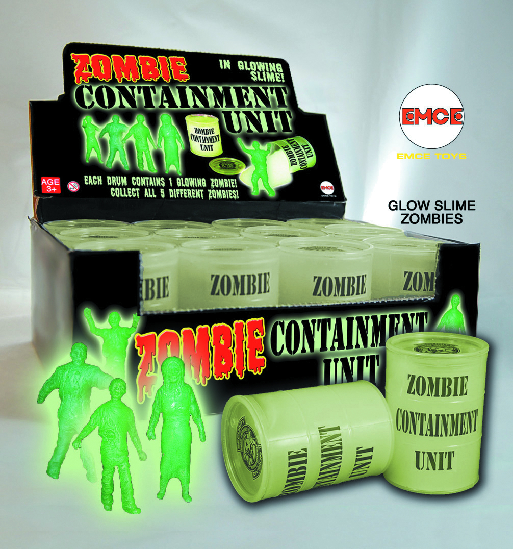 RADIOACTIVE ZOMBIE CONTAINMENT UNIT PX 12-CT DIS