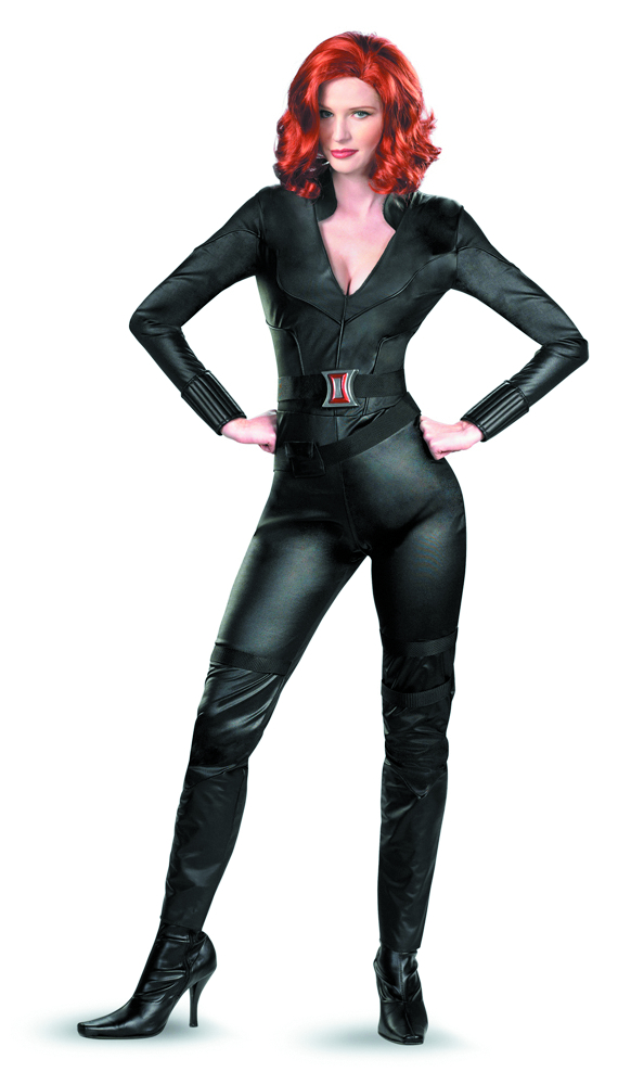 AVENGERS BLACK WIDOW DELUXE COSTUME LG