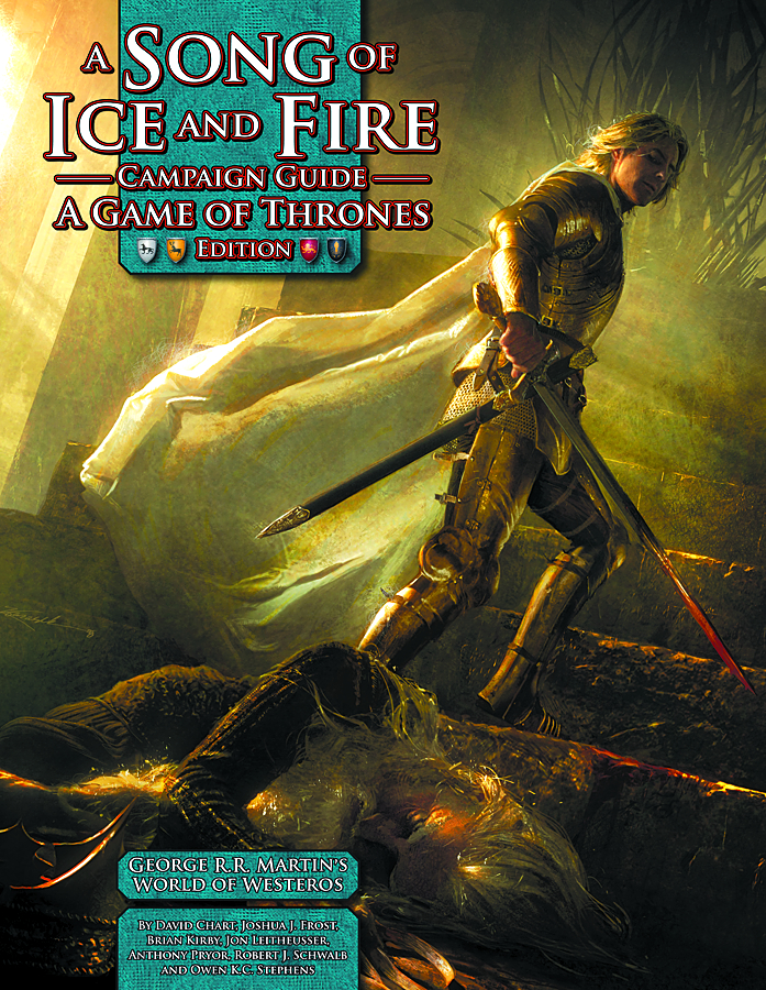 SONG OF ICE AND FIRE RPG CAMPAIGN GUIDE GAME THRONES ED HC