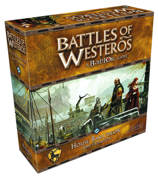 BATTLES WESTEROS HOUSE BARATHEON ARMY EXP SET
