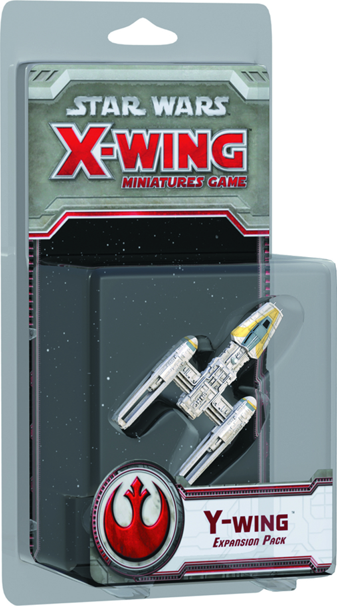 STAR WARS X-WING MINIS GAME Y-WING EXP PACK