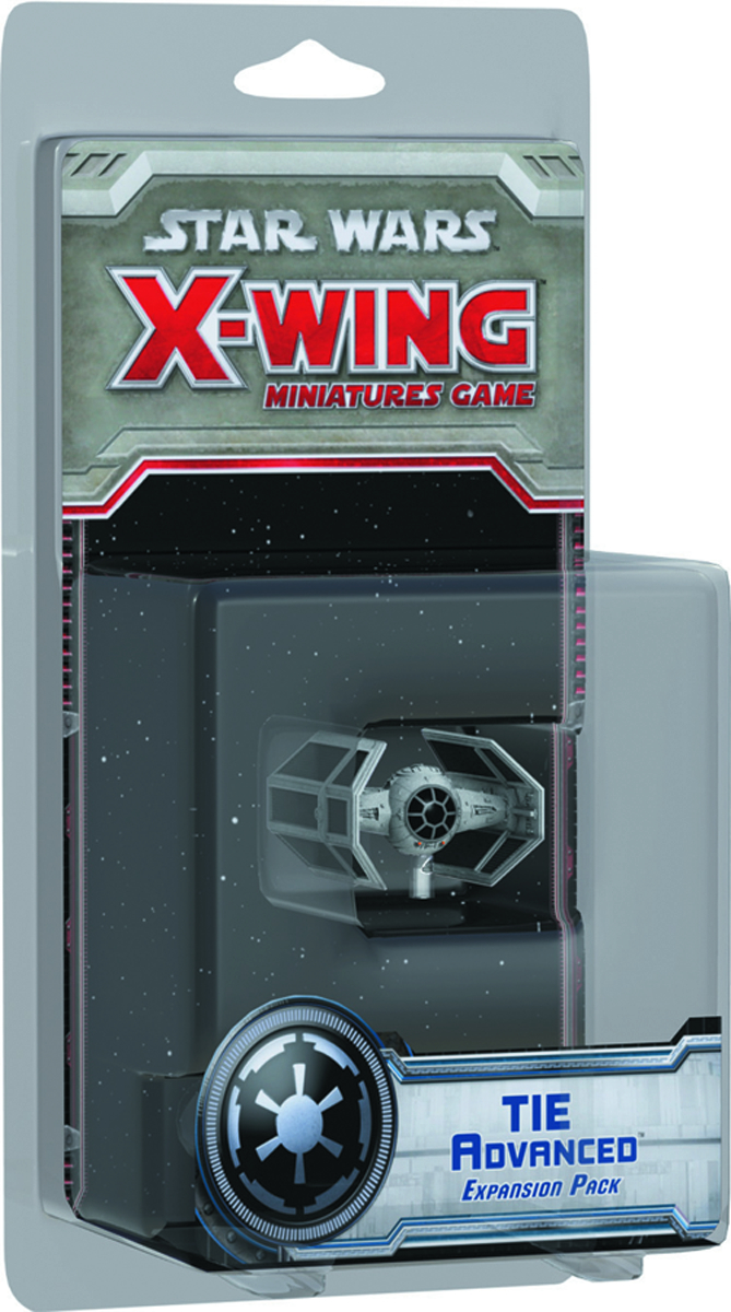 STAR WARS X-WING MINIS GAME TIE ADVANCED EXP PACK