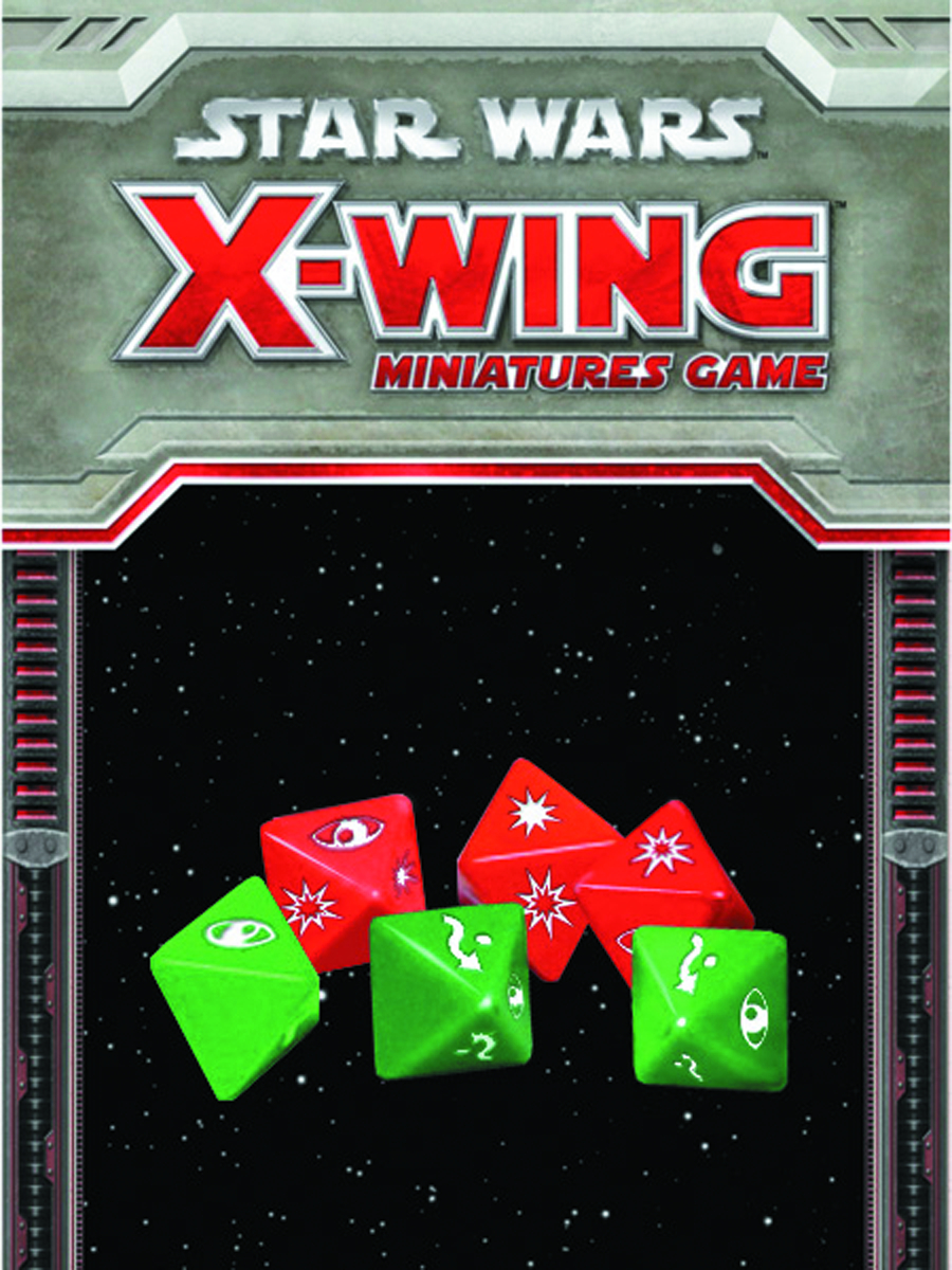STAR WARS X-WING MINIS GAME DICE PACK