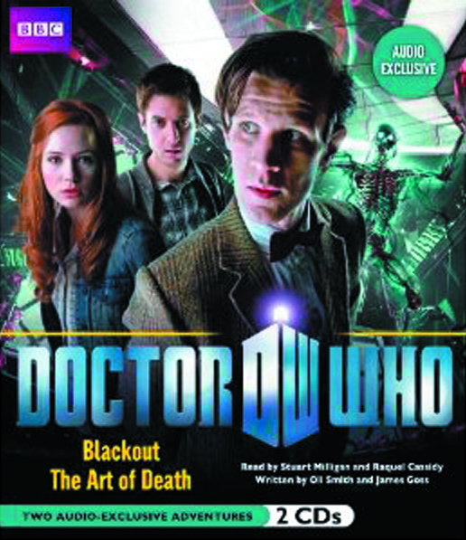 DOCTOR WHO BLACK & ART OF DEATH AUDIOBOOK