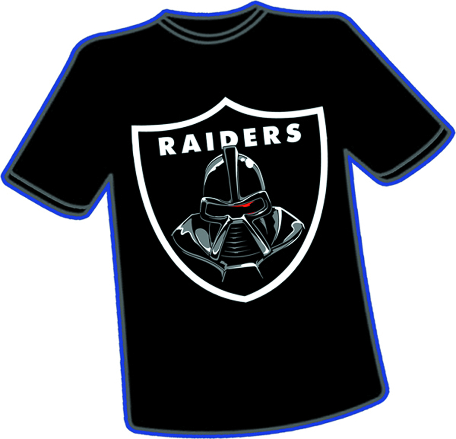 CYLON RAIDERS T/S MED
