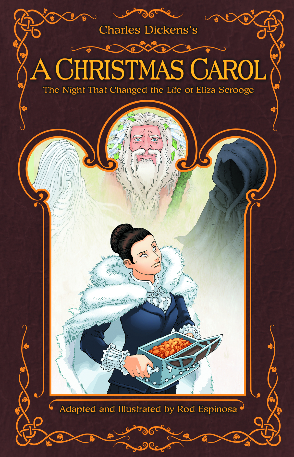CHRISTMAS CAROL NIGHT THAT CHANGED ELIZA SCROOGE HC