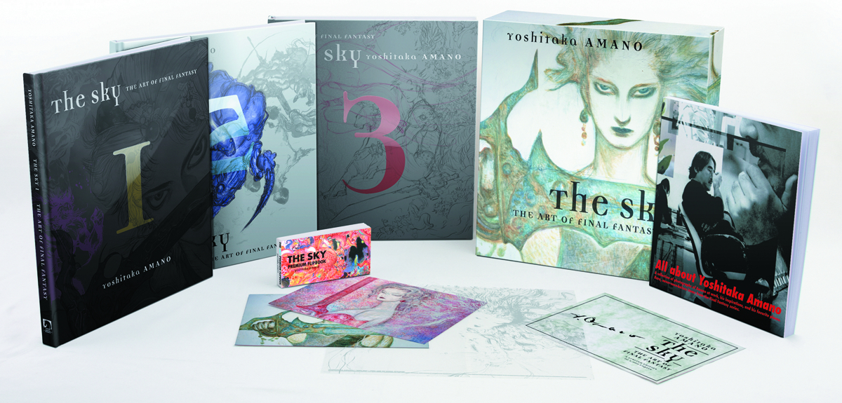 SKY ART OF FINAL FANTASY HC BOXED SET