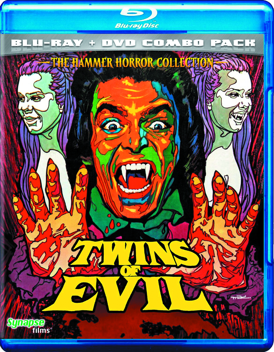 TWINS OF EVIL BD + DVD