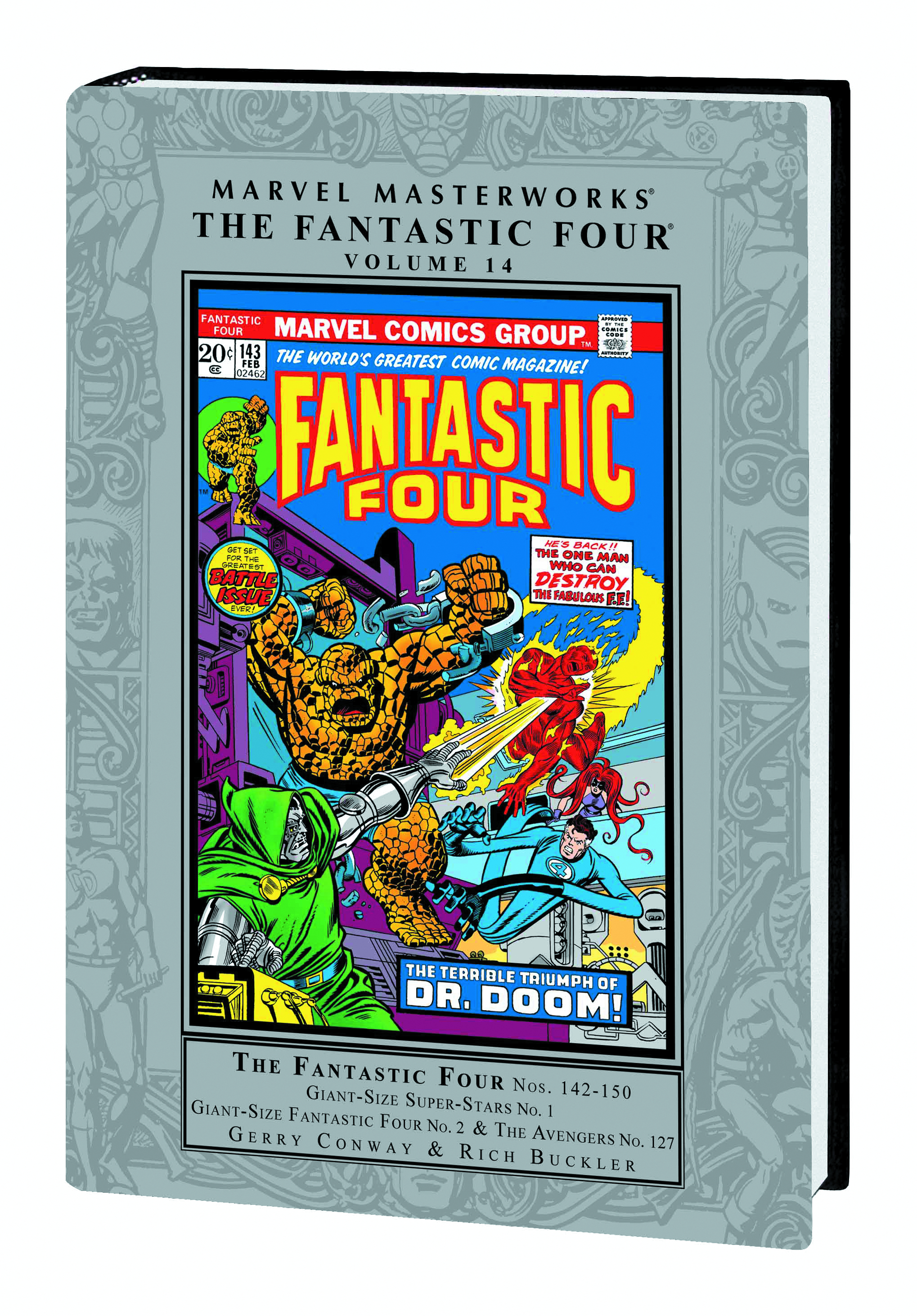MMW FANTASTIC FOUR HC VOL 14