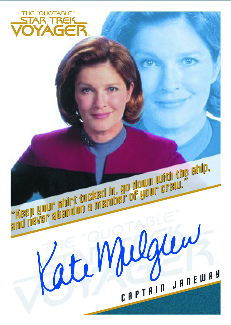 QUOTABLE STAR TREK VOYAGER T/C COLL ALBUM