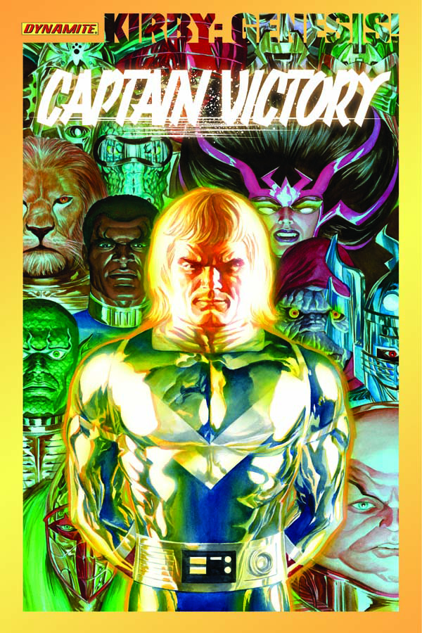 KIRBY GENESIS CAPTAIN VICTORY TP VOL 01