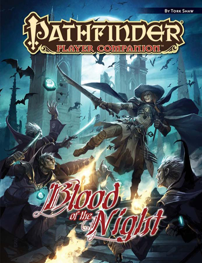 PATHFINDER PLAYER COMPANION BLOOD O/T NIGHT