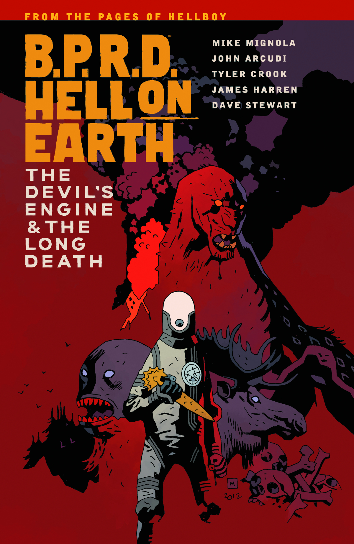 BPRD HELL ON EARTH TP VOL 04 DEVIL ENGINE & LONG DEATH