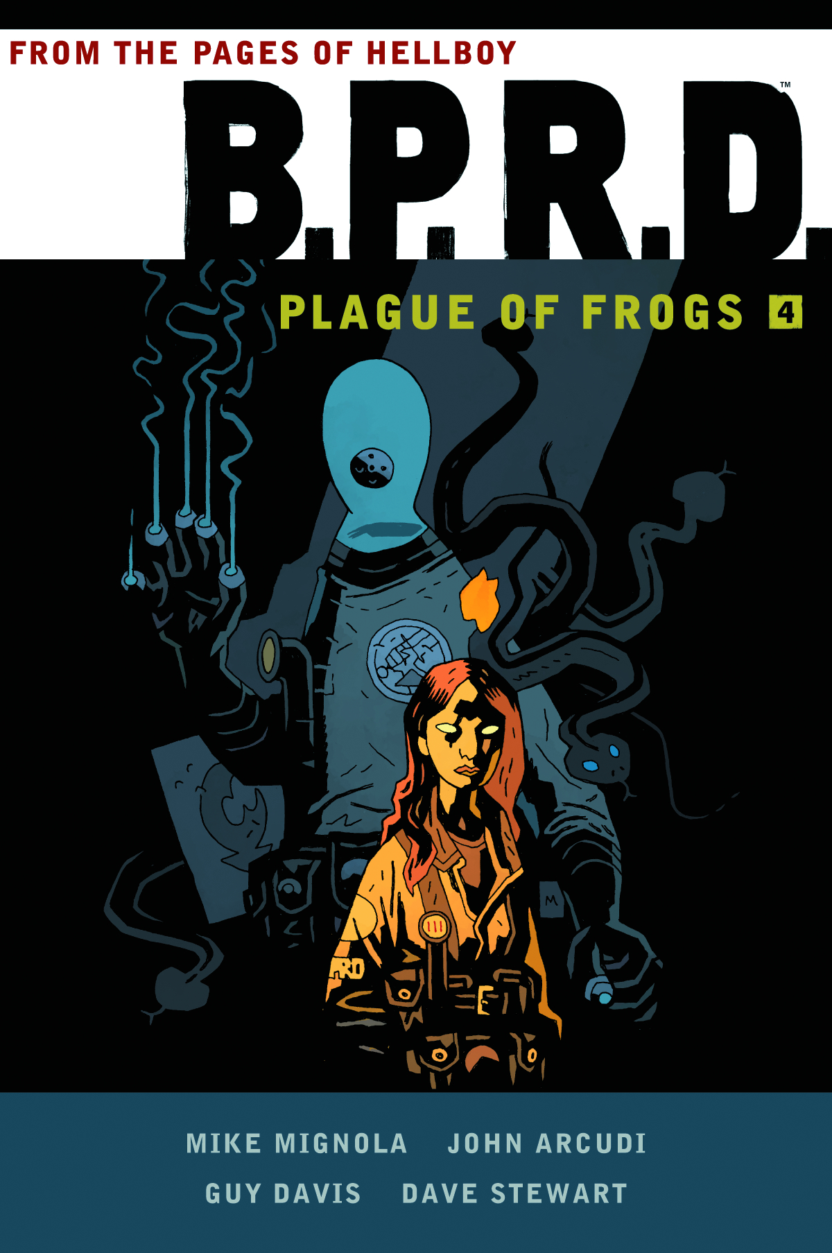 BPRD PLAGUE OF FROGS HC VOL 04
