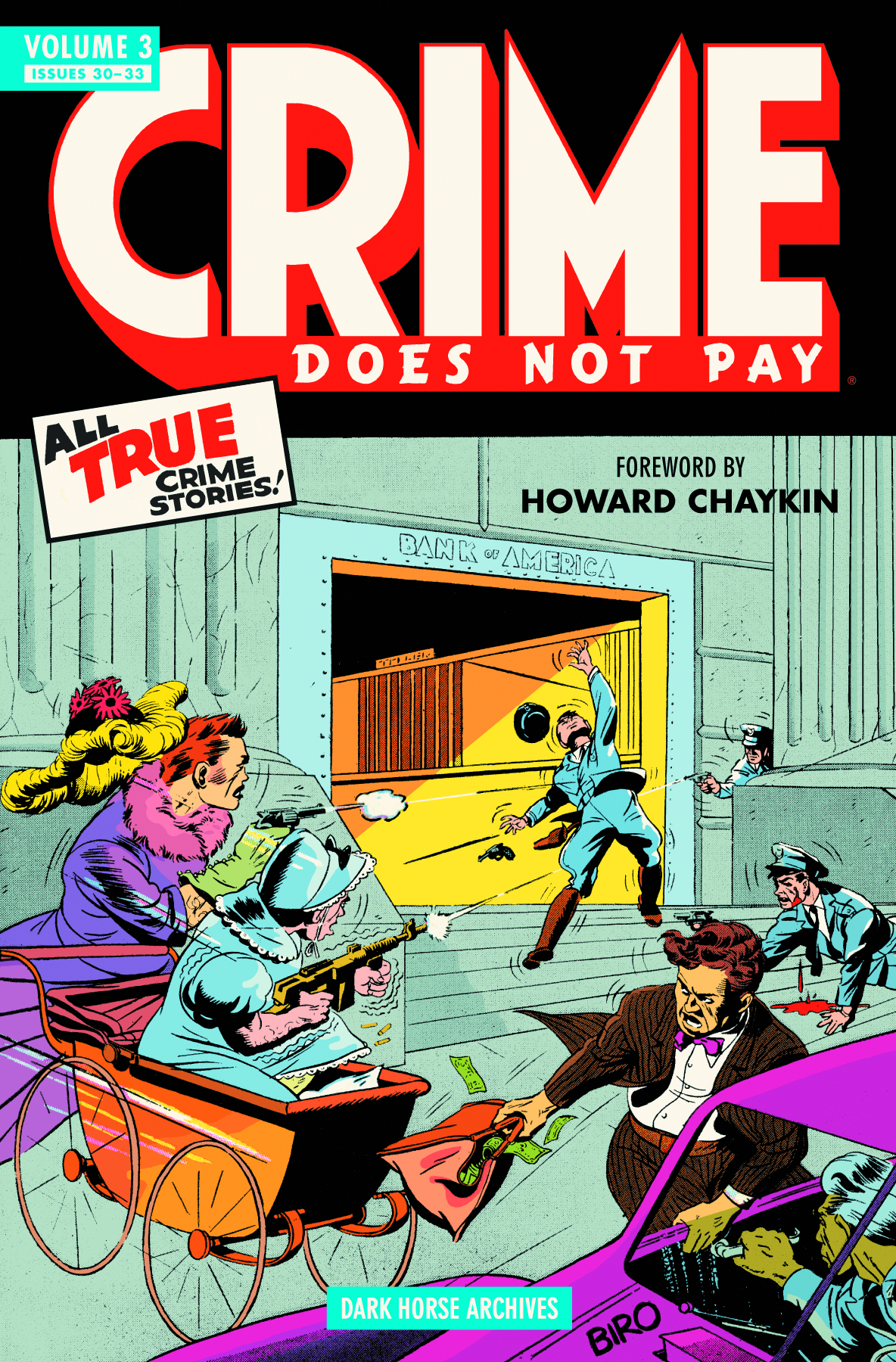 CRIME DOES NOT PAY ARCHIVES HC VOL 03