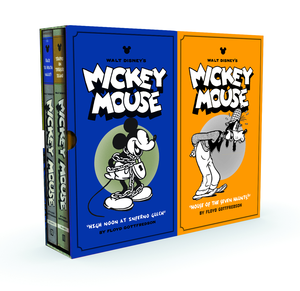 DISNEY MICKEY MOUSE BOX SET HC VOL 03 & 04