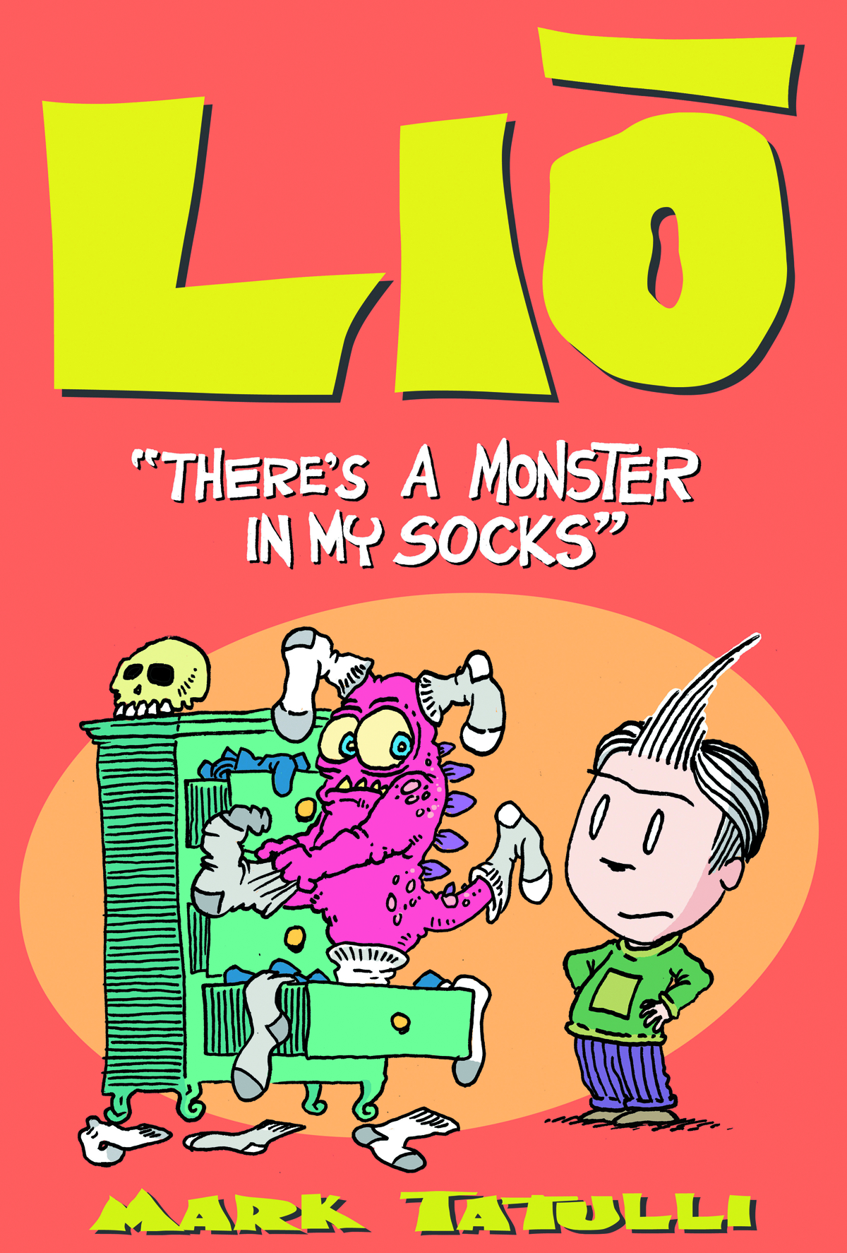 LIO TP VOL 01 THERES A MONSTER IN MY SOCKS