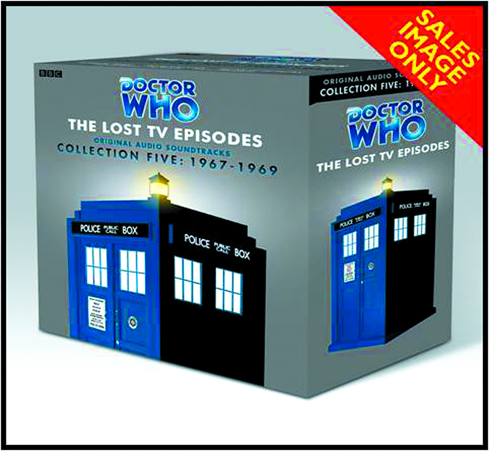 DOCTOR WHO LOST TV EPISODES AUDIO CD COLL 05 1967 - 1969