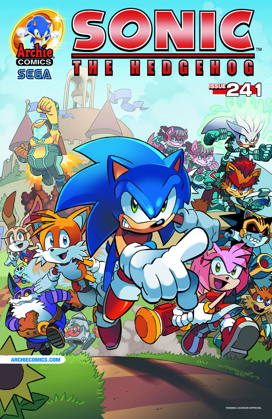 SONIC THE HEDGEHOG #241 REG CVR