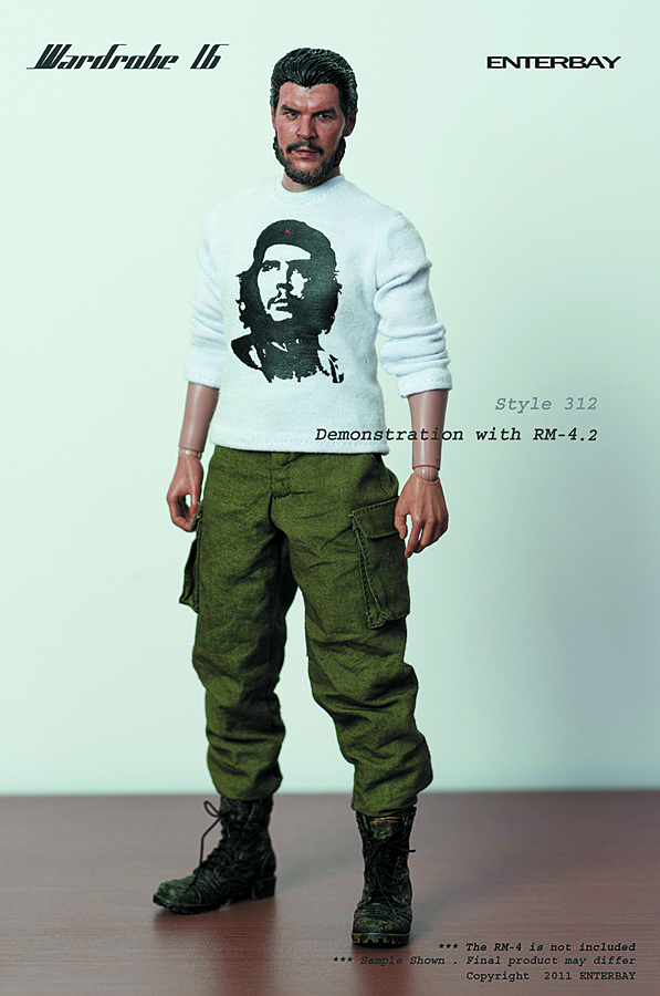 WARDROBE 16 STYLE 312 COMBAT T-SHIRT OUTFIT