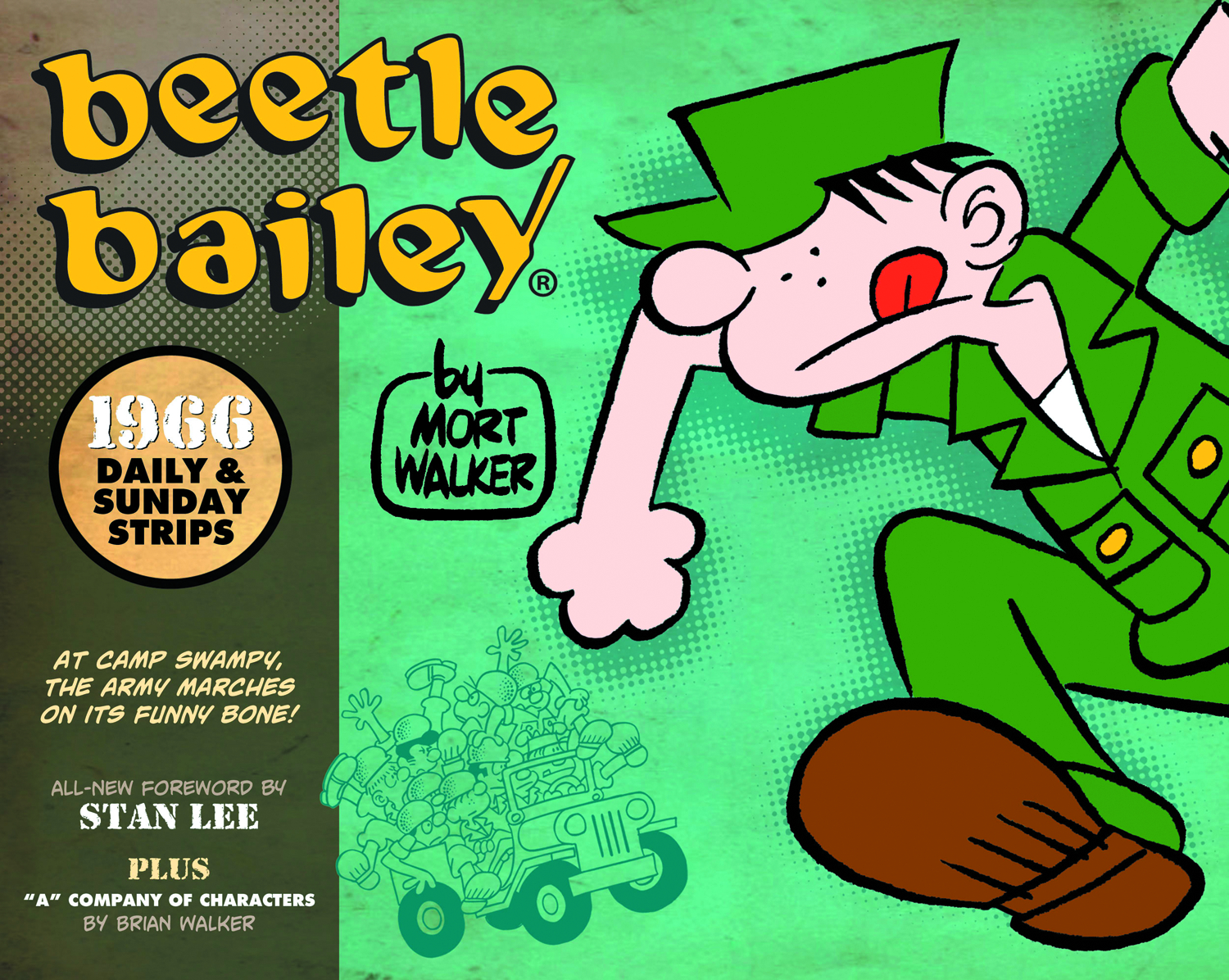 BEETLE BAILEY HC DAILIES & SUNDAYS 1966