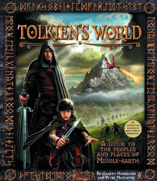 TOLKIENS WORLD GT PEOPLES & PLACES OF MIDDLE EARTH HC