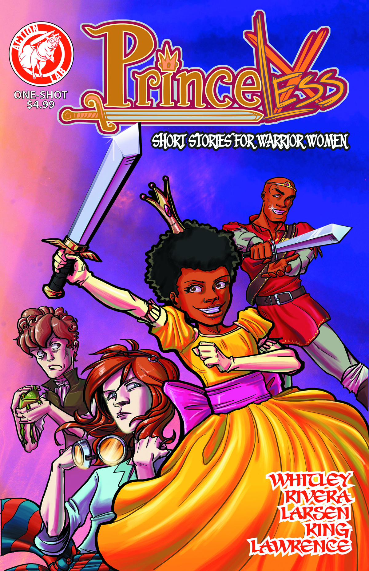 PRINCELESS STORIES WARRIOR WOMEN ONE SHOT #1
