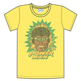 LUKE CAGE POWERMAN PX YELLOW T/S LG