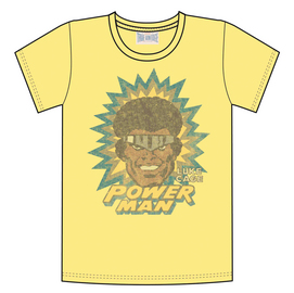 LUKE CAGE POWERMAN PX YELLOW T/S XXL