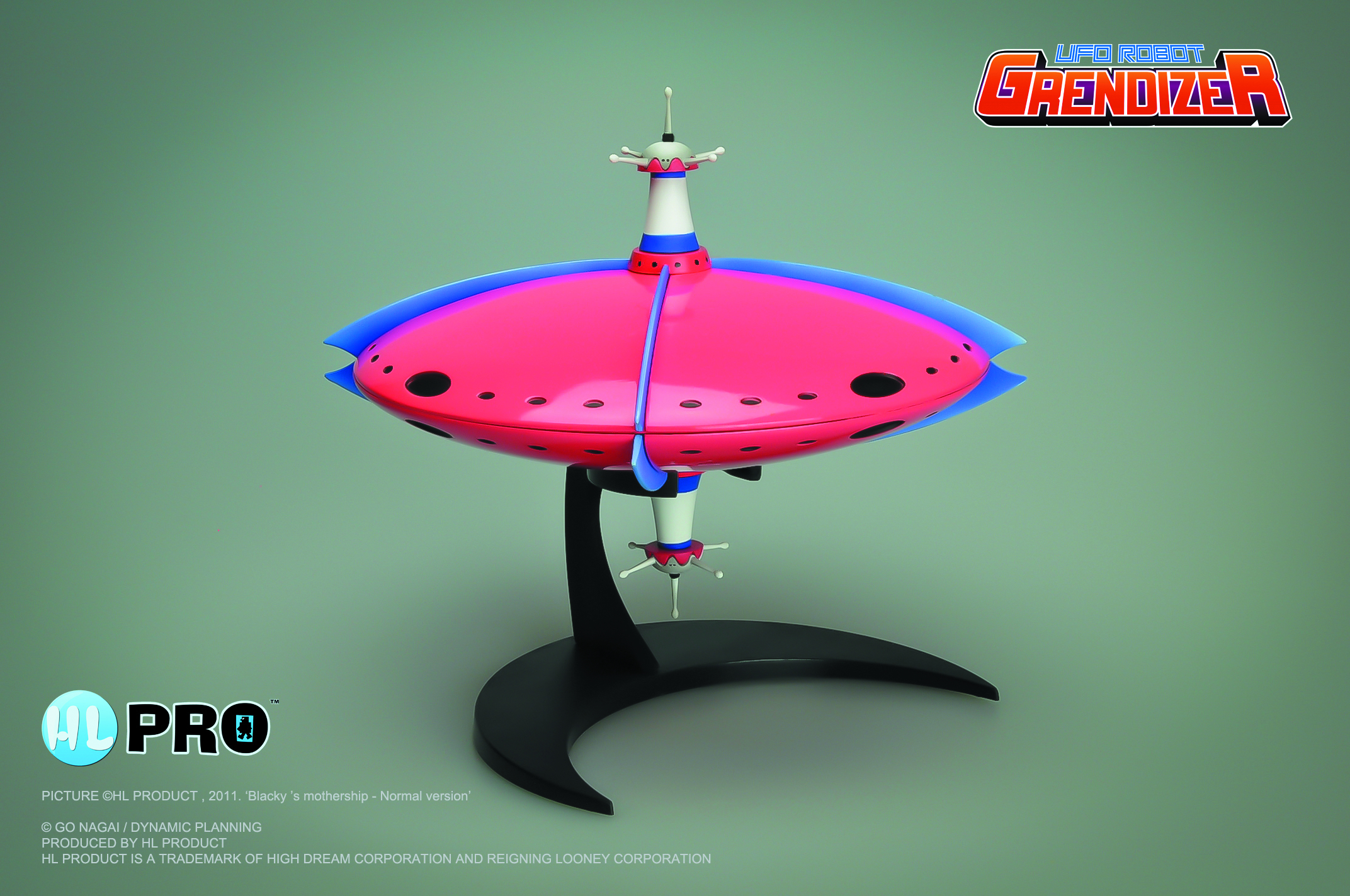 GRENDIZER BLAKIS MOTHERSHIP NORMAL VER