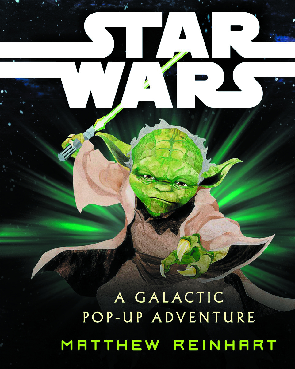STAR WARS GALACTIC POP UP ADVENTURE HC