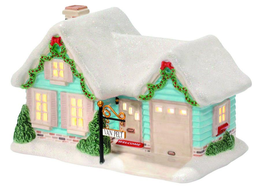peanuts xmas village van pelt house - Department 56 Peanuts Christmas