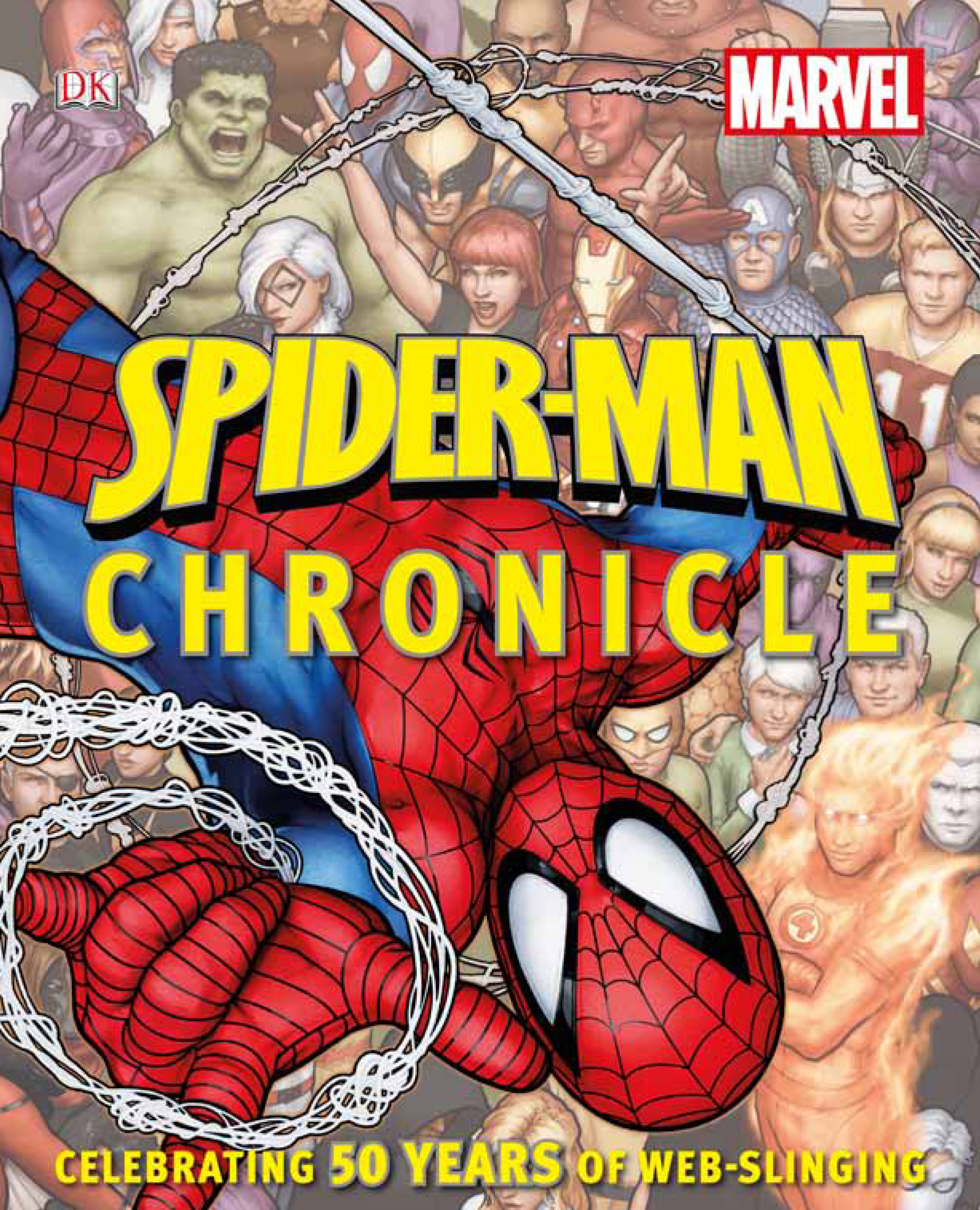 SPIDER MAN CHRONICLE CELEBRATING 50 YEARS WEB SLINGING HC