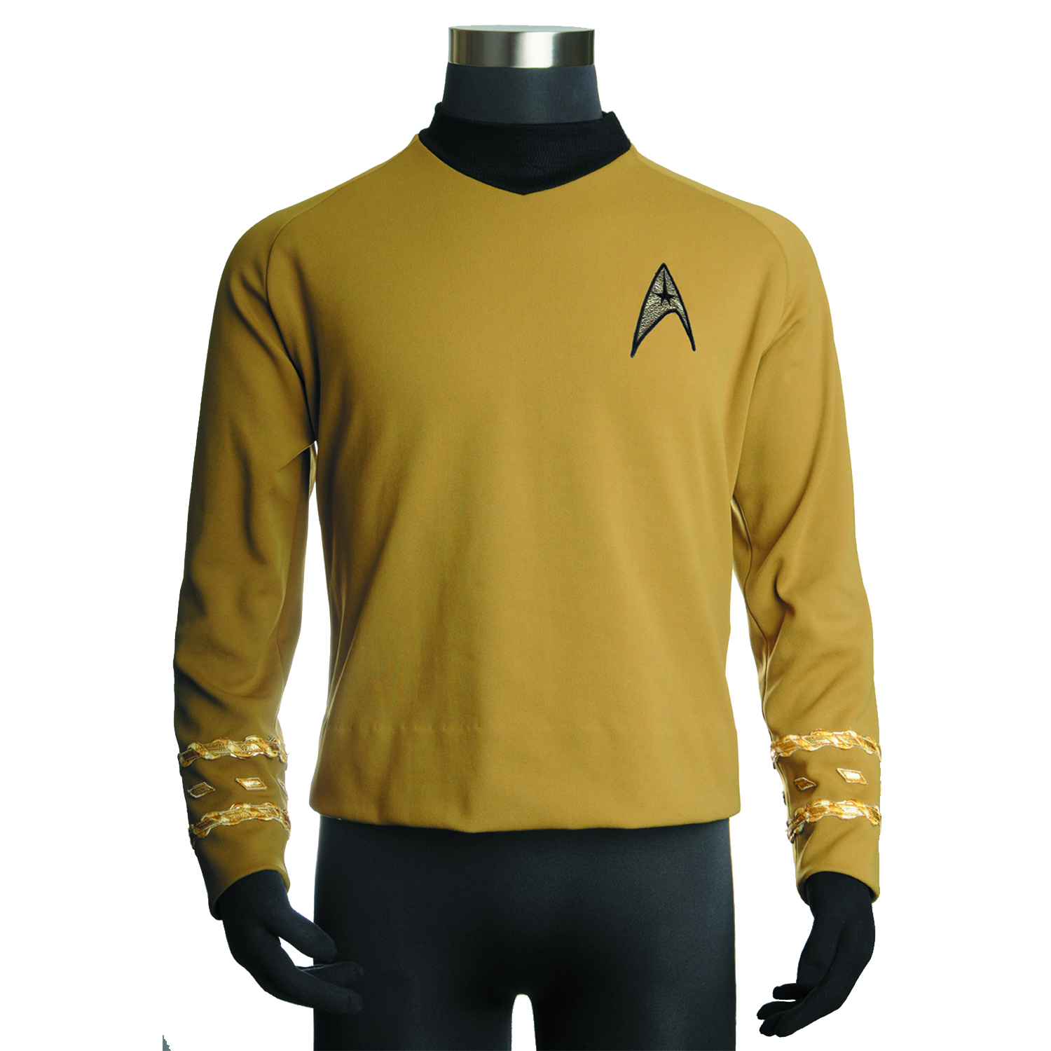 ST TOS CAPTAIN KIRK REPLICA TUNIC MED