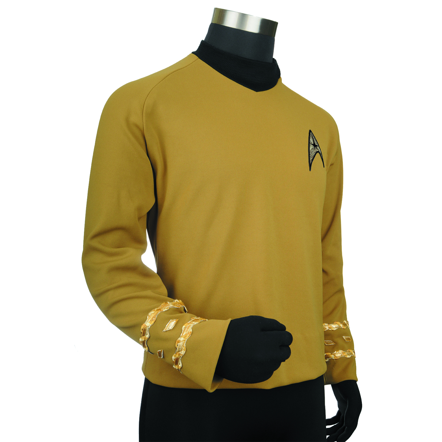 ST TOS CAPTAIN KIRK REPLICA TUNIC XL